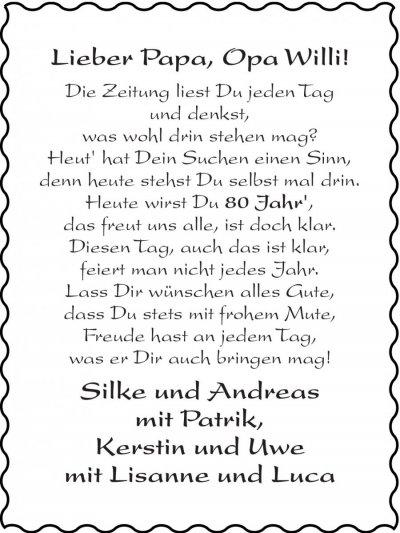 Gluckwunsche Zum 80 Geburtstag Fur Opa Hylen Maddawards Com